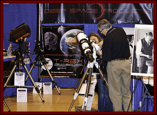 Deep Space Products Display - NEAF 2011