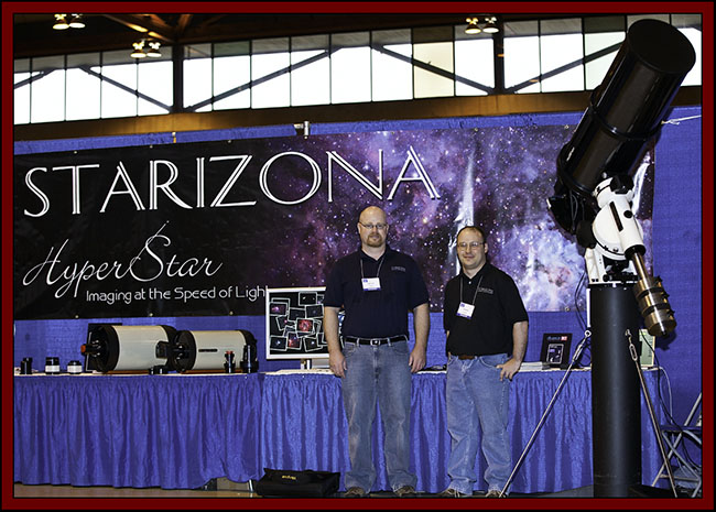 Scott Tucker and Gil Esquerdo of Starizona - NEAF 2011...