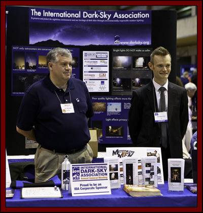 International Dark-Sky Association Booth - NEAF 2011