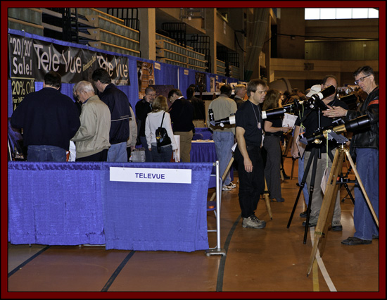 Tele Vue Exhibit Area - NEAF 2011...