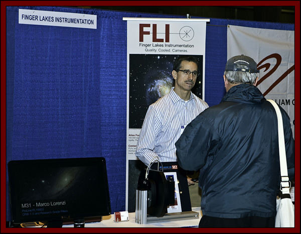 Gregory Terrance of Finger Lakes Instrumentation - NEAF 2011