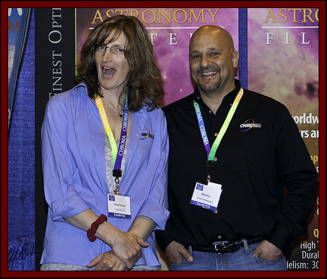Natalia Gorawski & Mark Kfloury of Chroma Technology Corp - NEAF 2011...