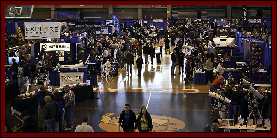 Sunday View of the Floor - NEAF 2011