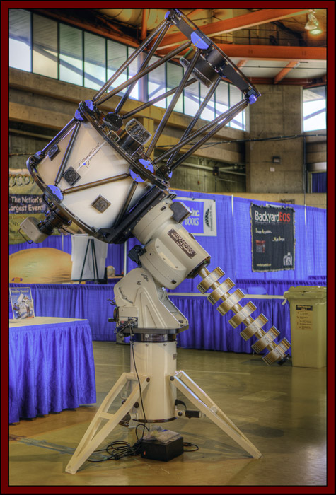 "Astro-Physics 3600GTO, 'el Capitan' and 24"" PlaneWave Instrument in HDR - NEAF 2011..."