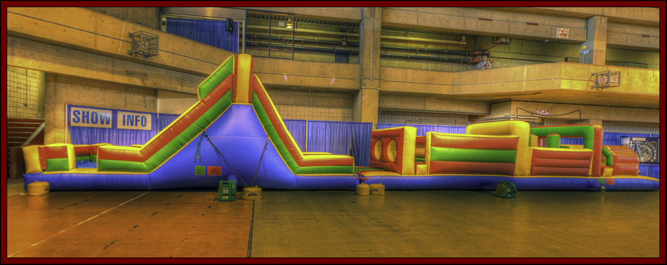 Lucky Star Amusements Inflatable - NEAF 2011