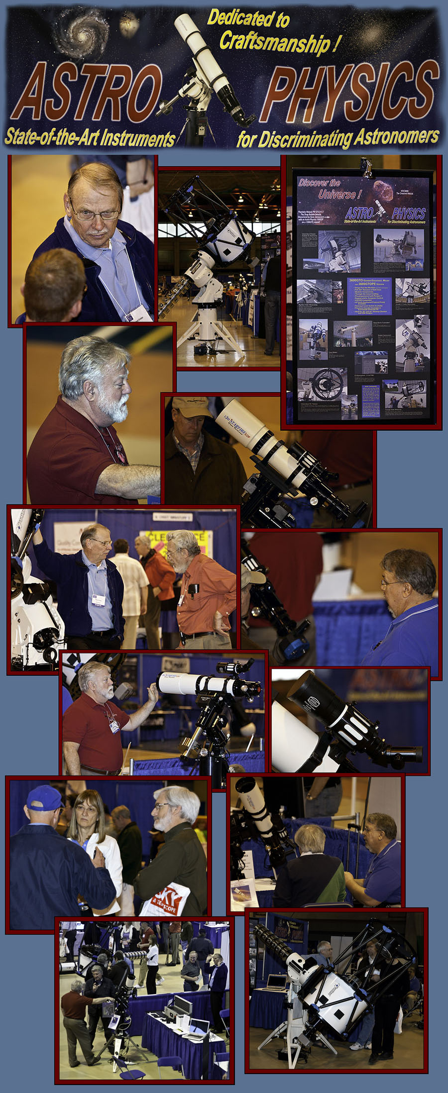 Around the Astro-Physics Display - NEAF 2011