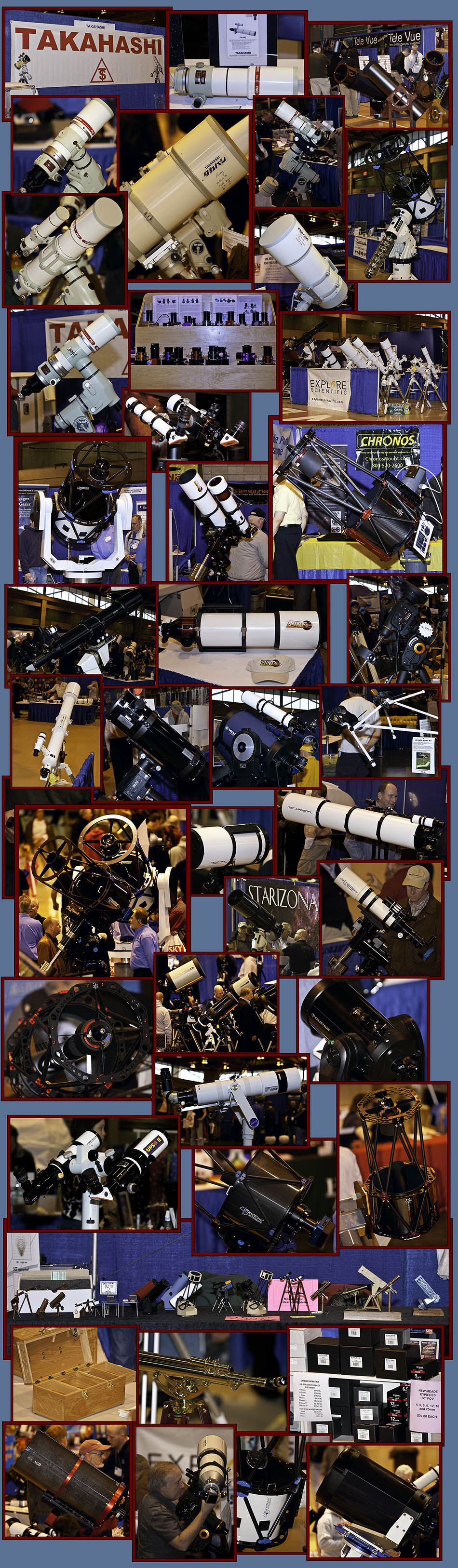 Telescopes & Equipment Displays - NEAF 2011