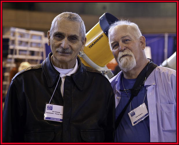 Art Ciampi & Kirk Rogers at the Texas Nautical Booth - NEAF 2015...