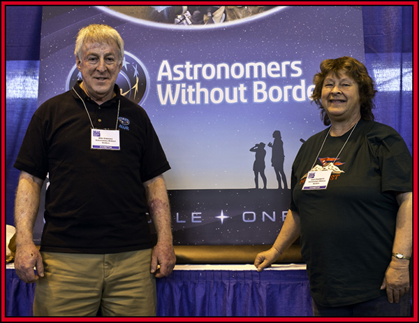 Mike Simmons & Joan Chamberlin ~ Astronomers Without Borders - NEAF 2015...