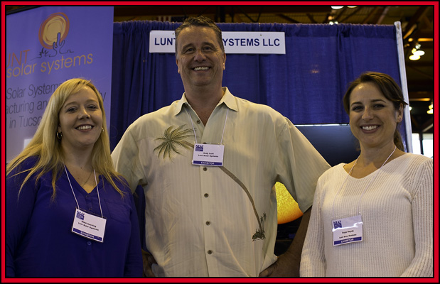 Rikki Hocking, Andy Lunt & Faye Heyde ~ Lunt Solar Systems