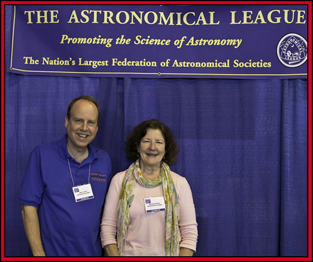 John & Genevieve Goss ~ Astronomical League - NEAF 2015