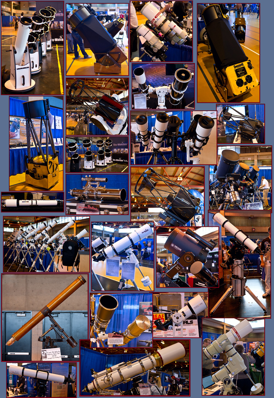 Telescopes - NEAF 2015