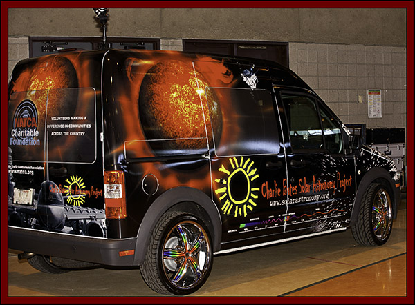Charlie Bates Solar Astronomy Project Van - NSSP 2011...