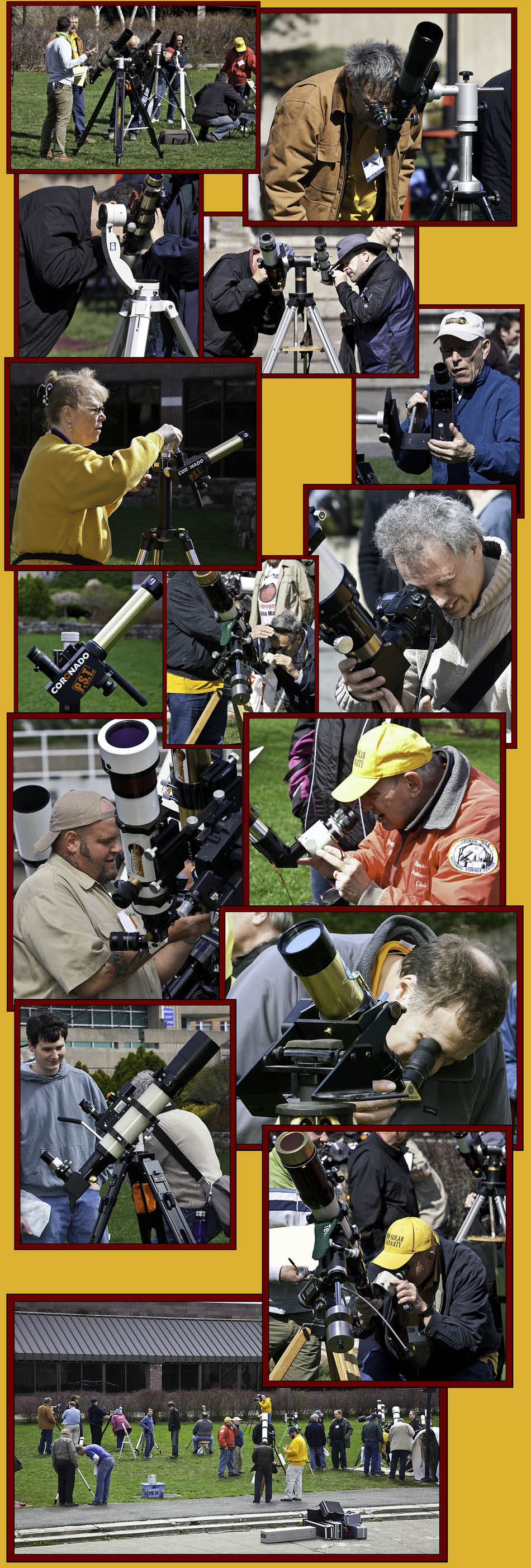 The Solar Observing Field - NSSP 2011