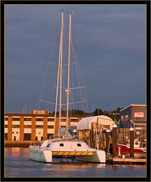 Catamaran Heron out of Rockport