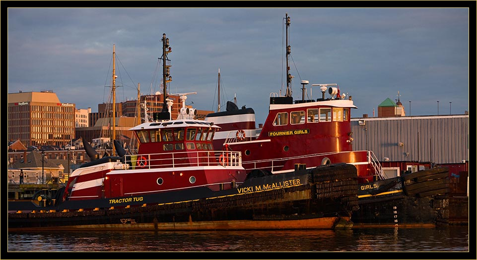 Working boats - members of the tug fleet