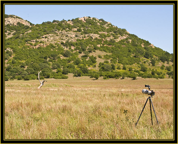 View while Seeking out the American Kestrel - Wichita Mountains Wildlife Refuge