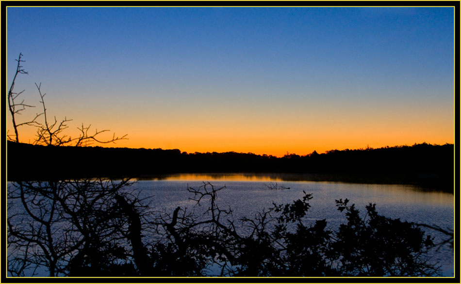 Dawn at French Lake - Wichita Mountains Wildlife Refuge