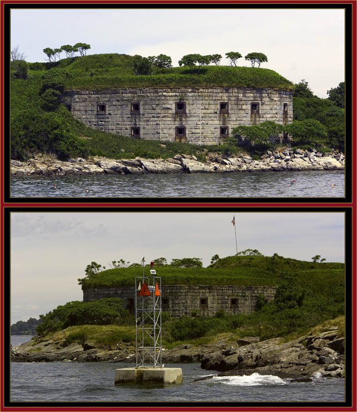 Fort Scammel Views - House Island