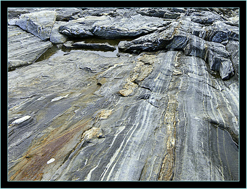 Ledge and Waves - Pemaquid Point - Bristol, Maine