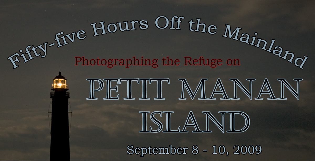 Photographing the Refuge on Petit Manan Island, Maine