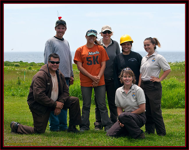 The Crew on Petit Manan Island - Maine Coastal Islands National Wildlife Refuge
