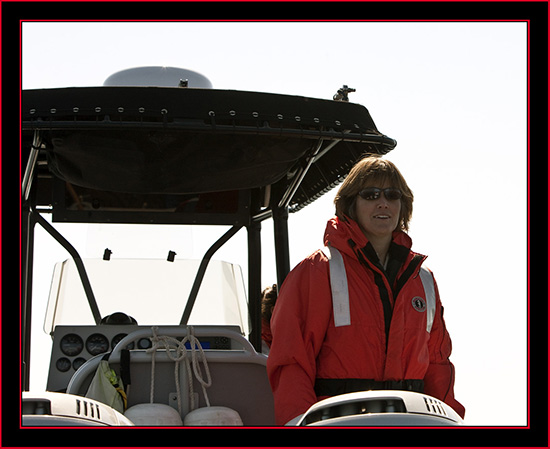 Linda Welch, U.S. Fish & Wildlife Service Biologist - Maine Coastal Islands National Wildlife Refuge