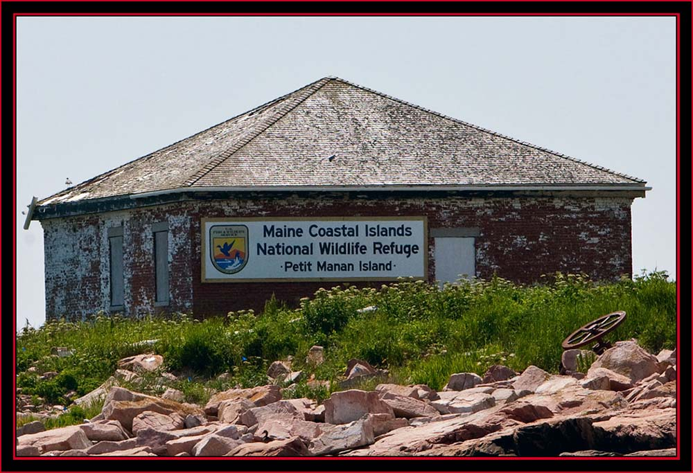 Newly Installed Signage - Maine Coastal Islands National Wildlife Refuge