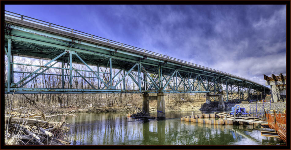 Bridge Over the Presumpscot River - Falmouth, Maine