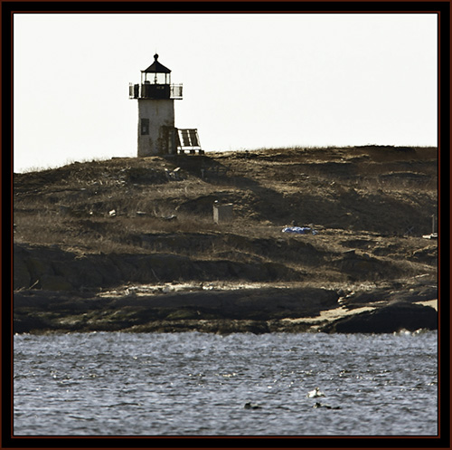 Pond Island Light - Near Fort Popham, Maine