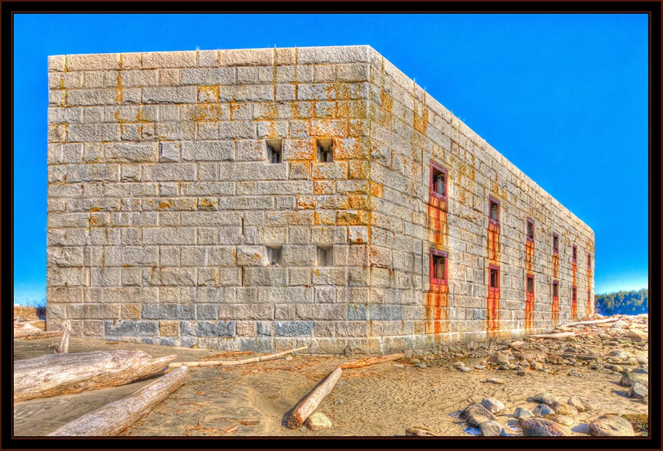 Seaward Elevation, Fort Popham - Phippsburg, Maine