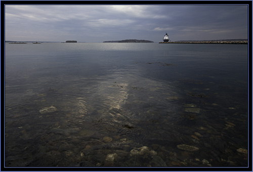View of Spring Point Ledge Light - South Portland, Maine