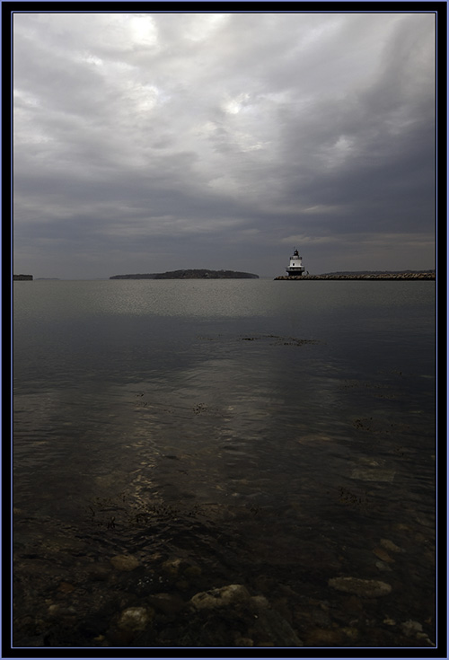 View View of Spring Point Ledge Light - South Portland, Maine