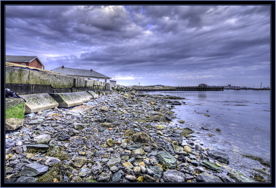 HDR View from Spring Point - South Portland, Maine