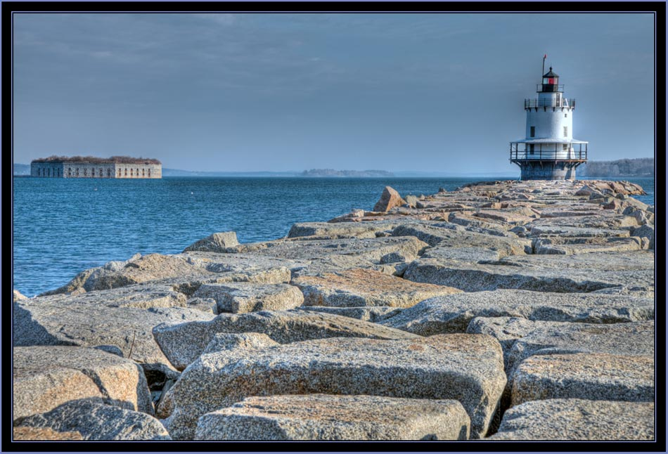 Spring Point Lighthouse and Jetty