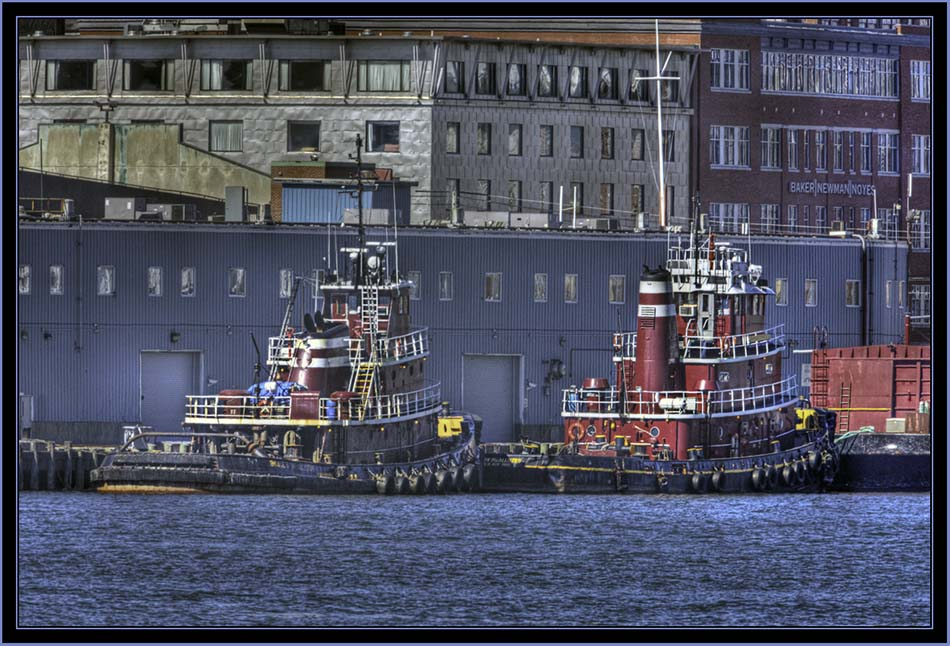 The Harbor's Working Tugboats