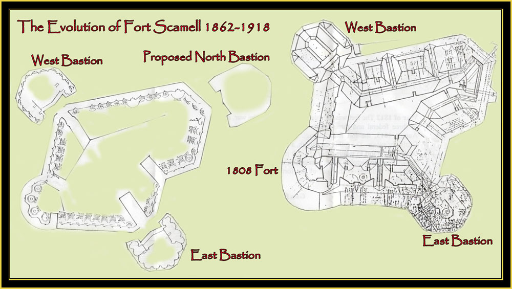 Fort Scammell 1862 - 1918