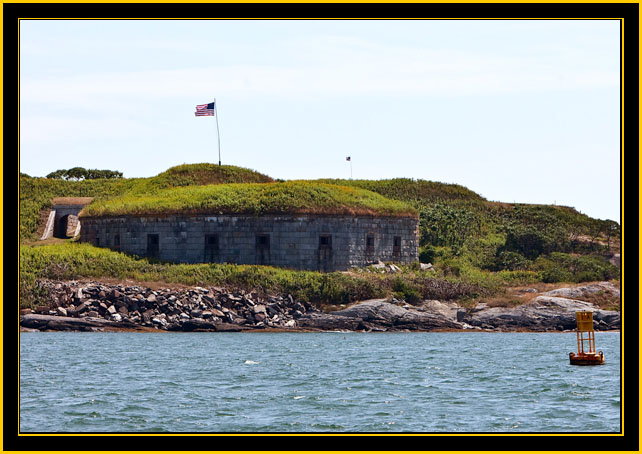 Fort Scammell - House Island