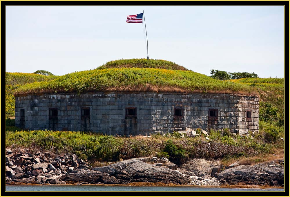 The 1808 Battery - House Island