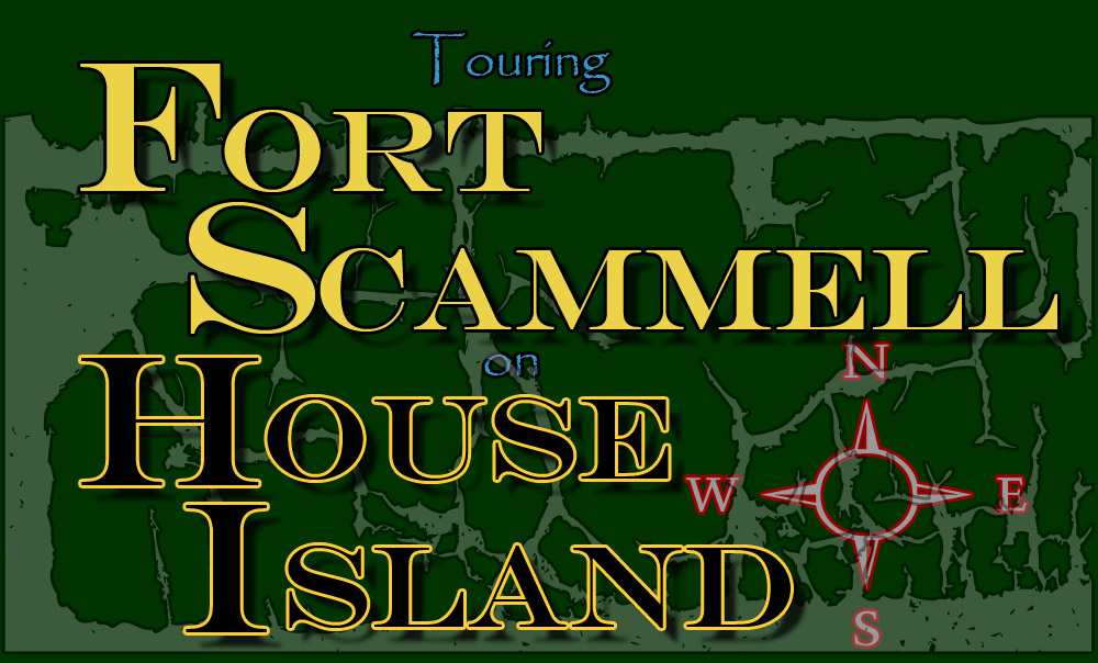 Touring Fort Scammel and House Island, Portland, Maine
