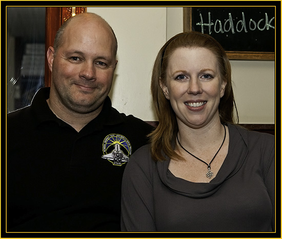 Brian and Amanda Ewenson, Aerospace Educators - Space Day 2011