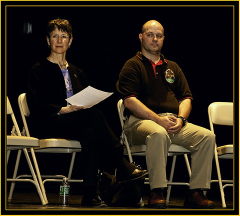Anita Bernhardt – Maine Department of Education and Brian Ewenson, Aerospace Educator - Space Day 2011