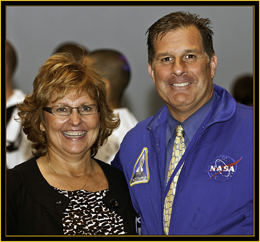 Ann LePage and Jon Ross - Space Day 2011