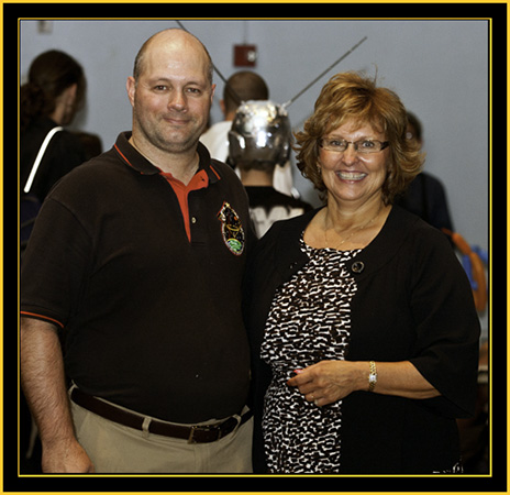 Brian Ewenson and Ann LePage - Space Day 2011
