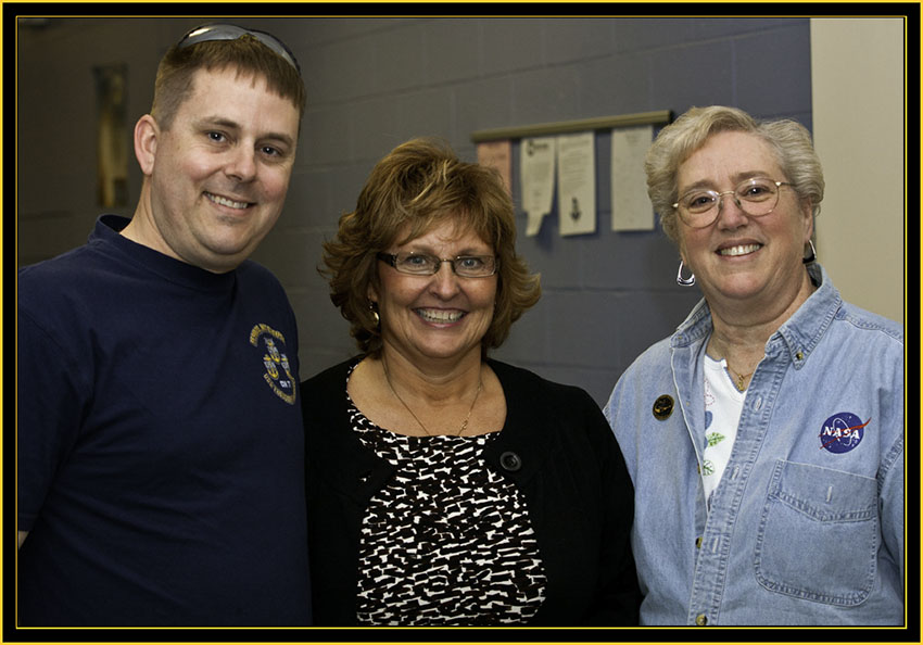 David Eggleston, Ann LePage & Sharon Eggleston - Space Day 2011