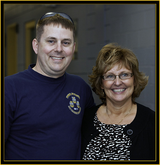 MMC David Eggleston, USN and Ann LePage - Space Day 2011