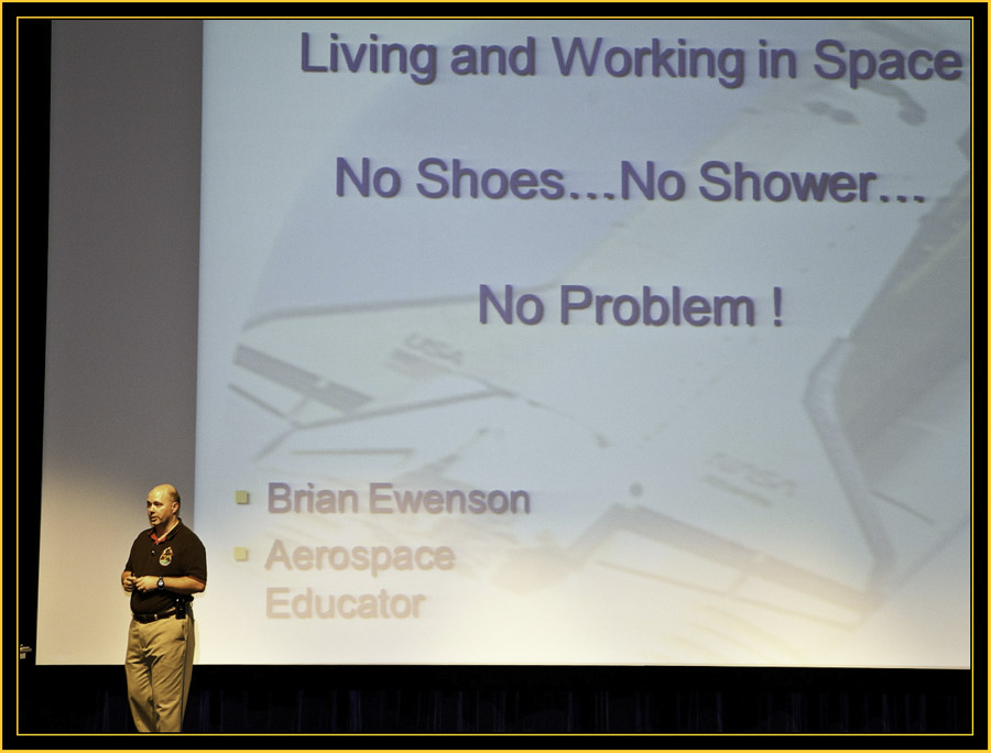 No Shoes...No Shower...No Problem! - Space Day 2011