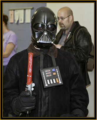Darth Vader at Westbrook High School - Space Day 2011