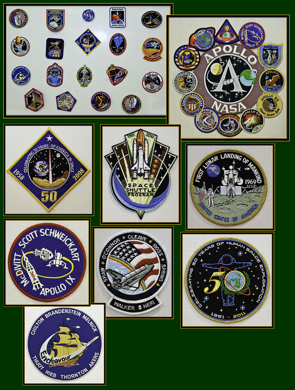 Space Program Patches - Space Day 2011