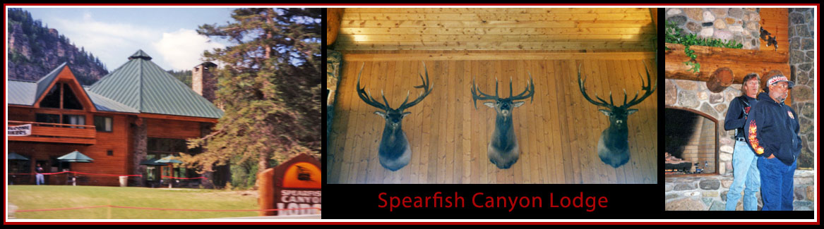 At the Spearfish Canyon Lodge